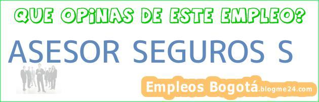 ASESOR SEGUROS S