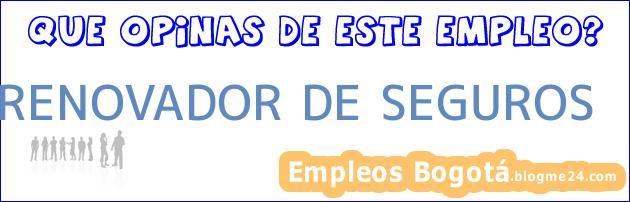 RENOVADOR DE SEGUROS