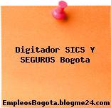 Digitador SICS Y SEGUROS Bogota