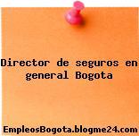 Director de seguros en general Bogota