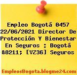 Empleo Bogotá 0457 22/06/2021 Director De Protección Y Bienestar En Seguros : Bogotá &8211; [VZ36] Seguros