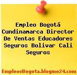 Empleo Bogotá Cundinamarca Director De Ventas Educadores Seguros Bolivar Cali Seguros
