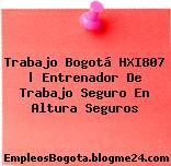 Trabajo Bogotá HXI807 | Entrenador De Trabajo Seguro En Altura Seguros