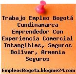 Trabajo Empleo Bogotá Cundinamarca Emprendedor Con Experiencia Comercial Intangibles, Seguros Bolívar, Armenia Seguros