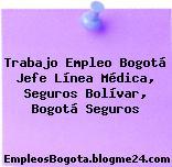 Trabajo Empleo Bogotá Jefe Línea Médica, Seguros Bolívar, Bogotá Seguros