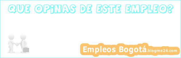 Empleo Bogotá Ingeniero de Sistemas de Operaciones Sistemas