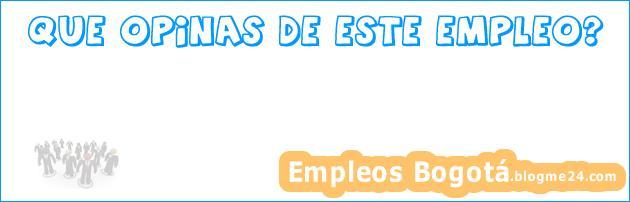 Empleo Bogotá Ingeniero de Sistemas Soporte Sistemas