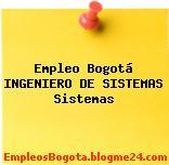 Empleo Bogotá Ingeniero De Sistemas Sistemas