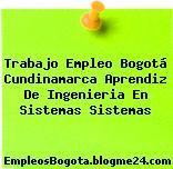 Trabajo Empleo Bogotá Cundinamarca Aprendiz De Ingenieria En Sistemas Sistemas