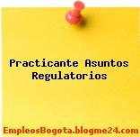 Practicante Asuntos Regulatorios