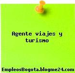 Agente viajes y turismo