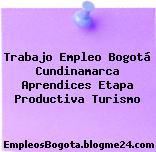 Trabajo Empleo Bogotá Cundinamarca Aprendices Etapa Productiva Turismo