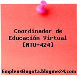 Coordinador de Educación Virtual [NTU-424]