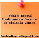 Trabajo Bogotá Cundinamarca Docente de Biología Ventas