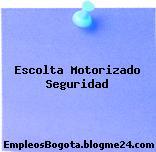 Escolta Motorizado Seguridad