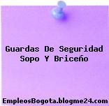 Guardas De Seguridad Sopo Y Briceño